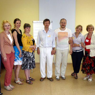 Слушатели базового семинара по соционике (Воронеж, 2013 г.)