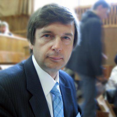 Во время конференции по биофизике (Севастополь, 2008 г.)